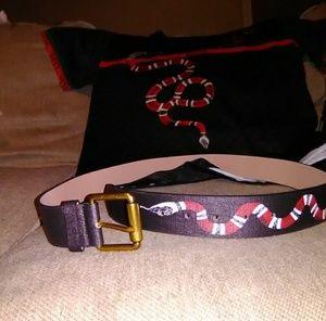 Other - Gucci snake belt